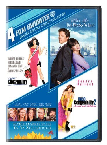 Sandra Bullock Comedy Collection 4 Film Favorites Miss