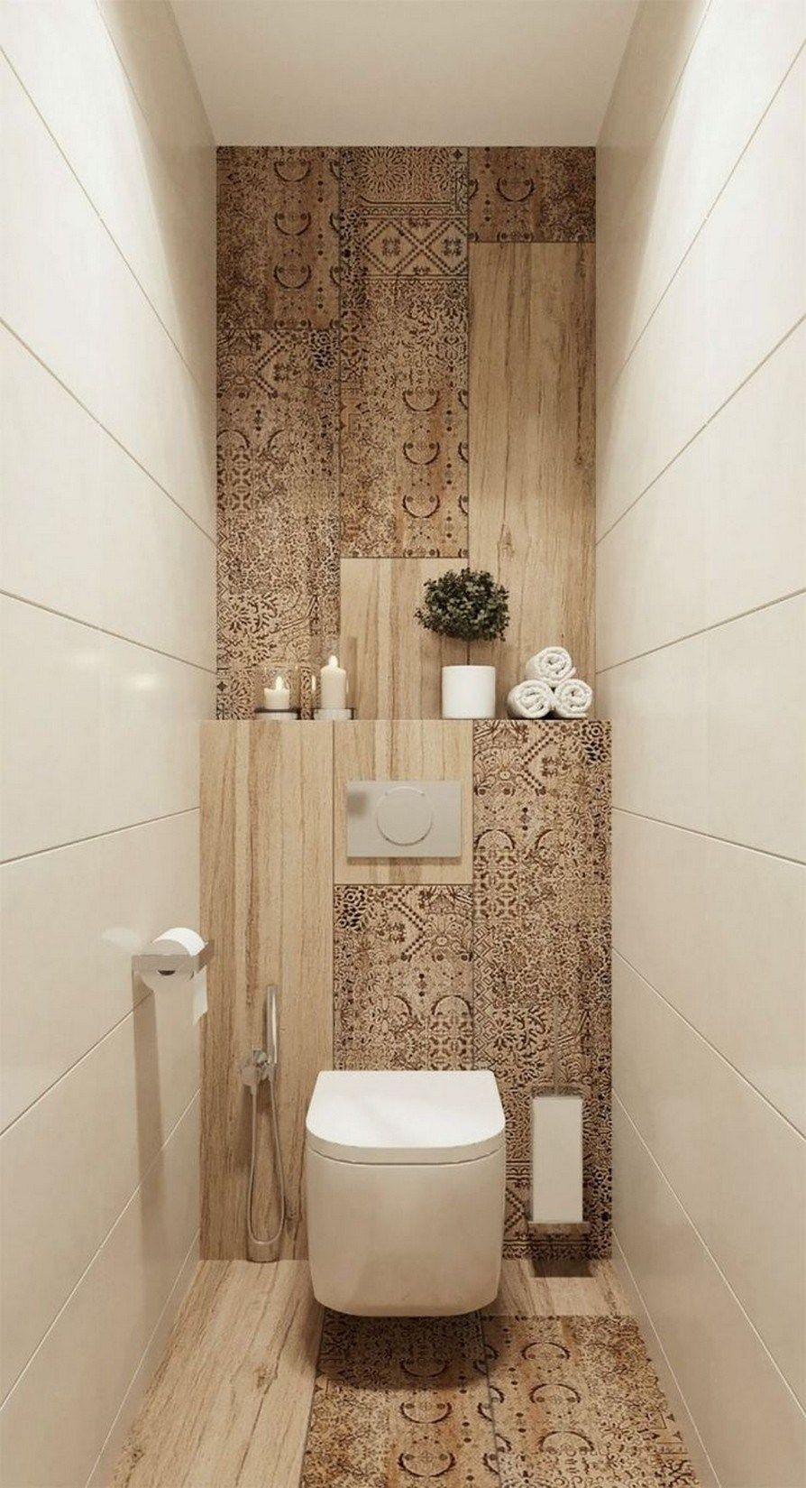 34 Stunning Small Bathroom Makeover Ideas Home Decor In 2020 Small Bathroom Makeover Toilet Room Decor Bathroom Design Small