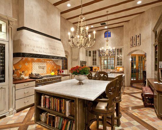 Mediterranean design kitchen.
