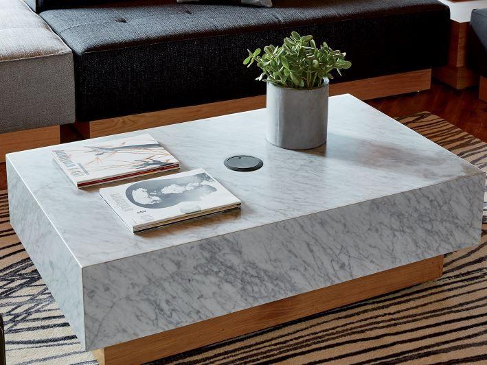 West Elm Workspace Marble Block Coffee Table Http Www