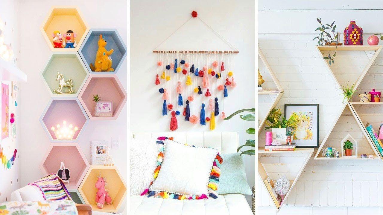Diy Room Decor 16 Diy Room Decorating Ideas For Girls Diy Home Decor Diy Crafts Diy Clothes Diy Furniture In 2020 Easy Diy Room Decor Diy Room Decor Diy Wall Decor