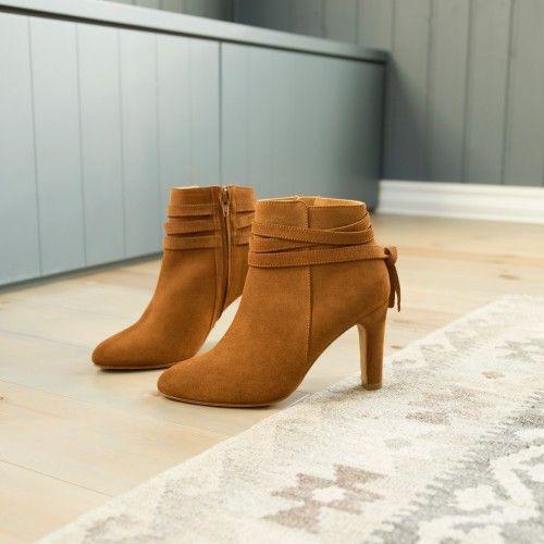 7ea88f0929e3ca Boots à Talons couleur pain d'épice Bobbies La Voltigeuse | Fashion