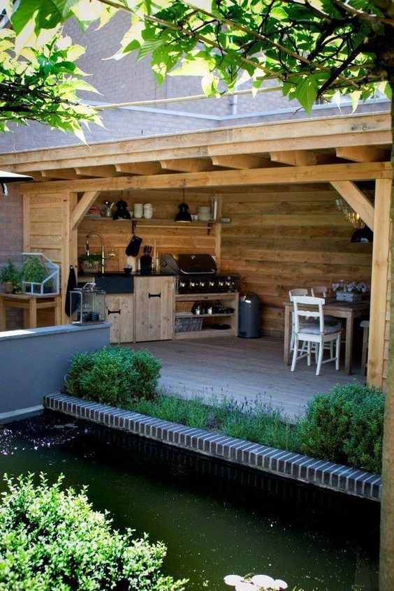 Pool Houses Outdoor Eating Areas Cooking Area Bbq Kitchen Ideas