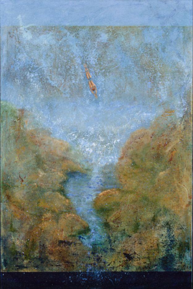 Lise Gougeon - Acrylique sur toile.