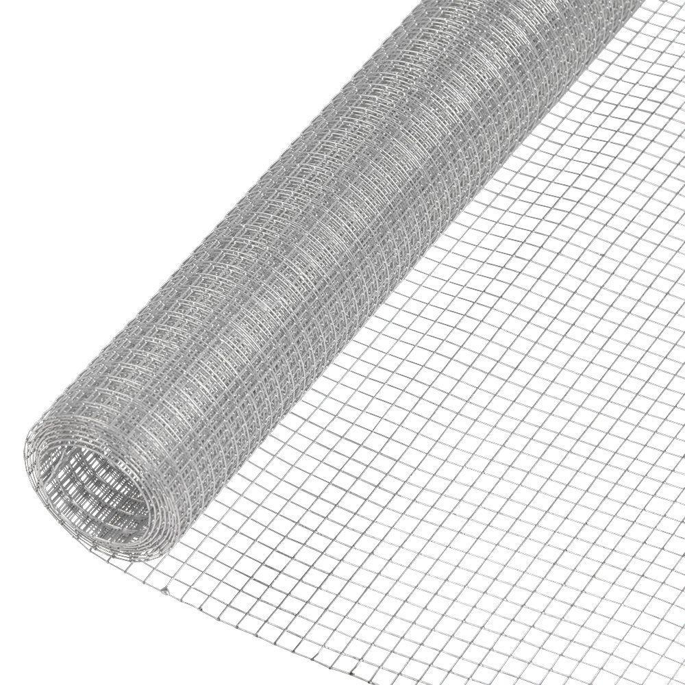 Acorn International 1 2 In X 2 5 Ft X 100 Ft Hardware Cloth Hc230100 The Home Depot Hardware Cloth Mesh Fabric Wire Mesh