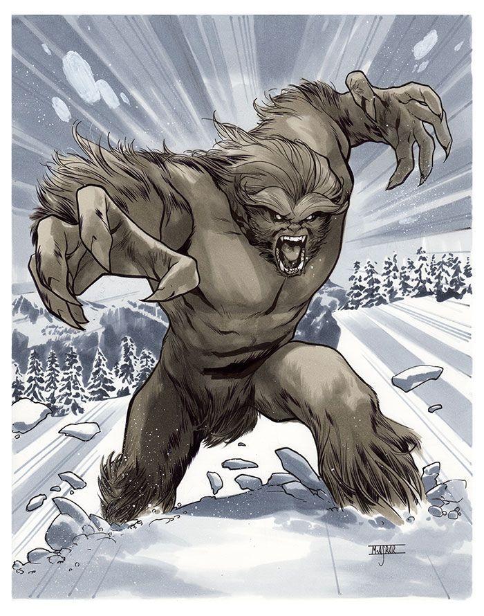 sasquatch marvel - Yahoo Image Search Results | Marvel ...Bigfoot Comic