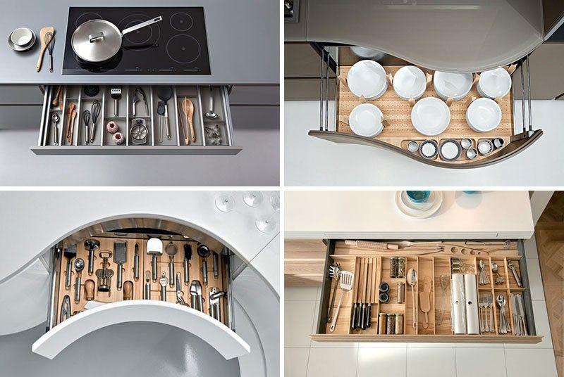 Küche Schublade Organisation Design Your Schubladen So alles hat A ...