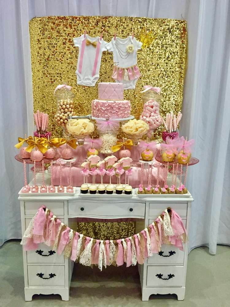Charmingly Sweet Baby Shower Party Ideas Baby shower parties - baby shower nia
