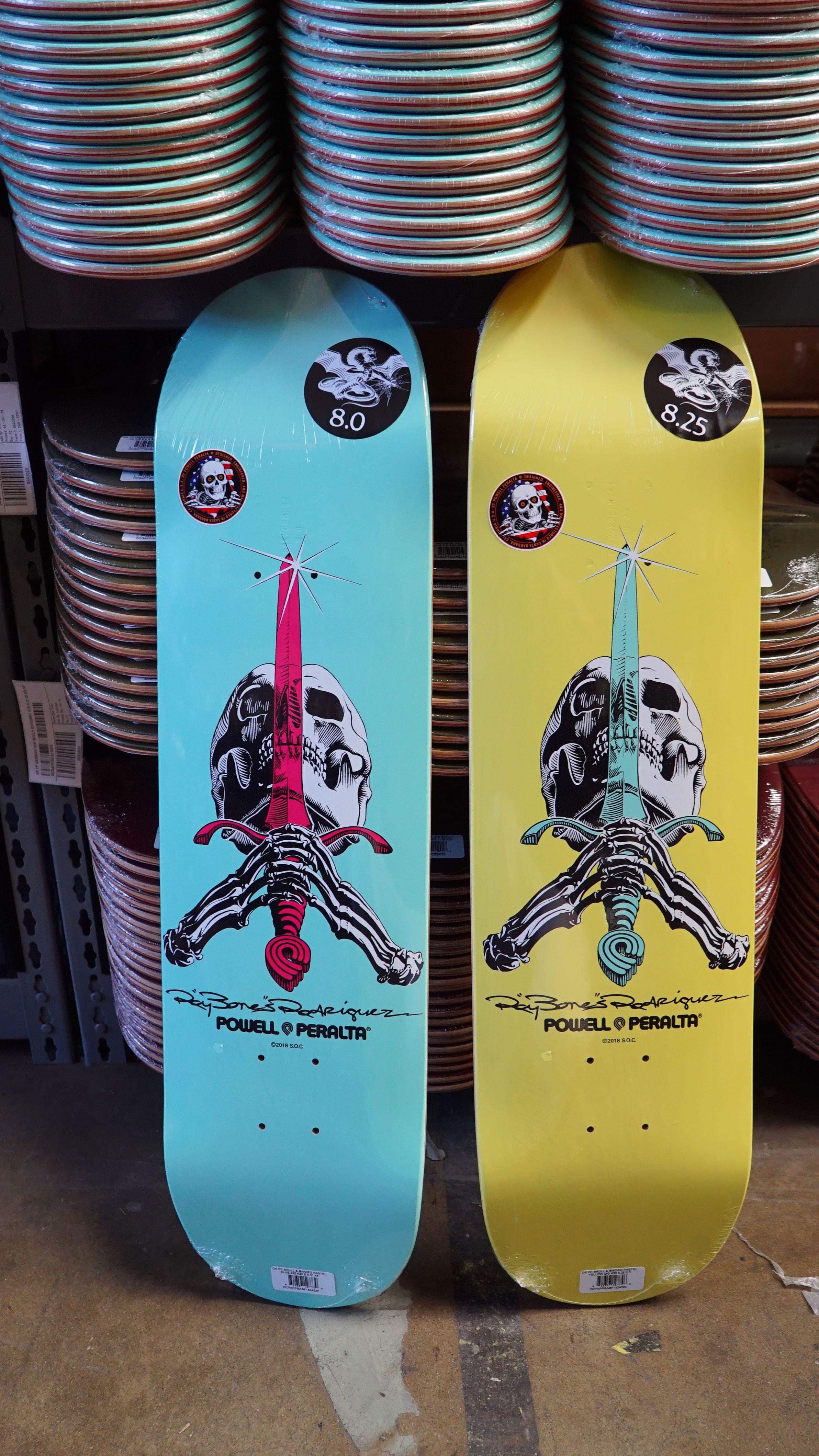 Powell Peralta Skull Sword Skateboard Skateboard Skateboard Art Powell Peralta