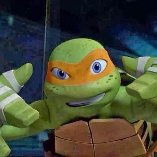 Mikey 3 Is Cool And Cute Tmnt Turtles Ninja Turtles Ninja