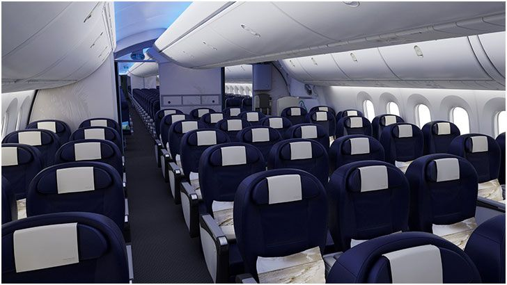Jetairfly dreamliner for Avion jetairfly interieur