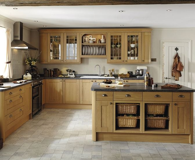 Image Result For Oak Kitchen Kitchens Howdens Kitchens Oak