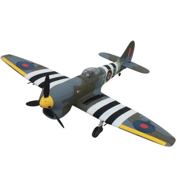 Dynam Hawker Tempest 1250mm Wingspan EPO Warbird RC Airplane PNP DY8959
