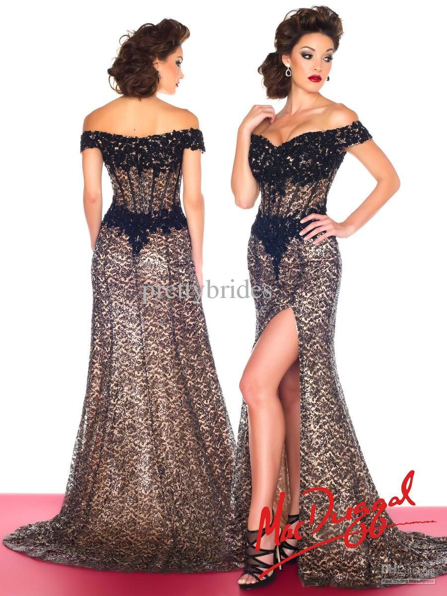 Off the Shoulder Prom Dresses 2014