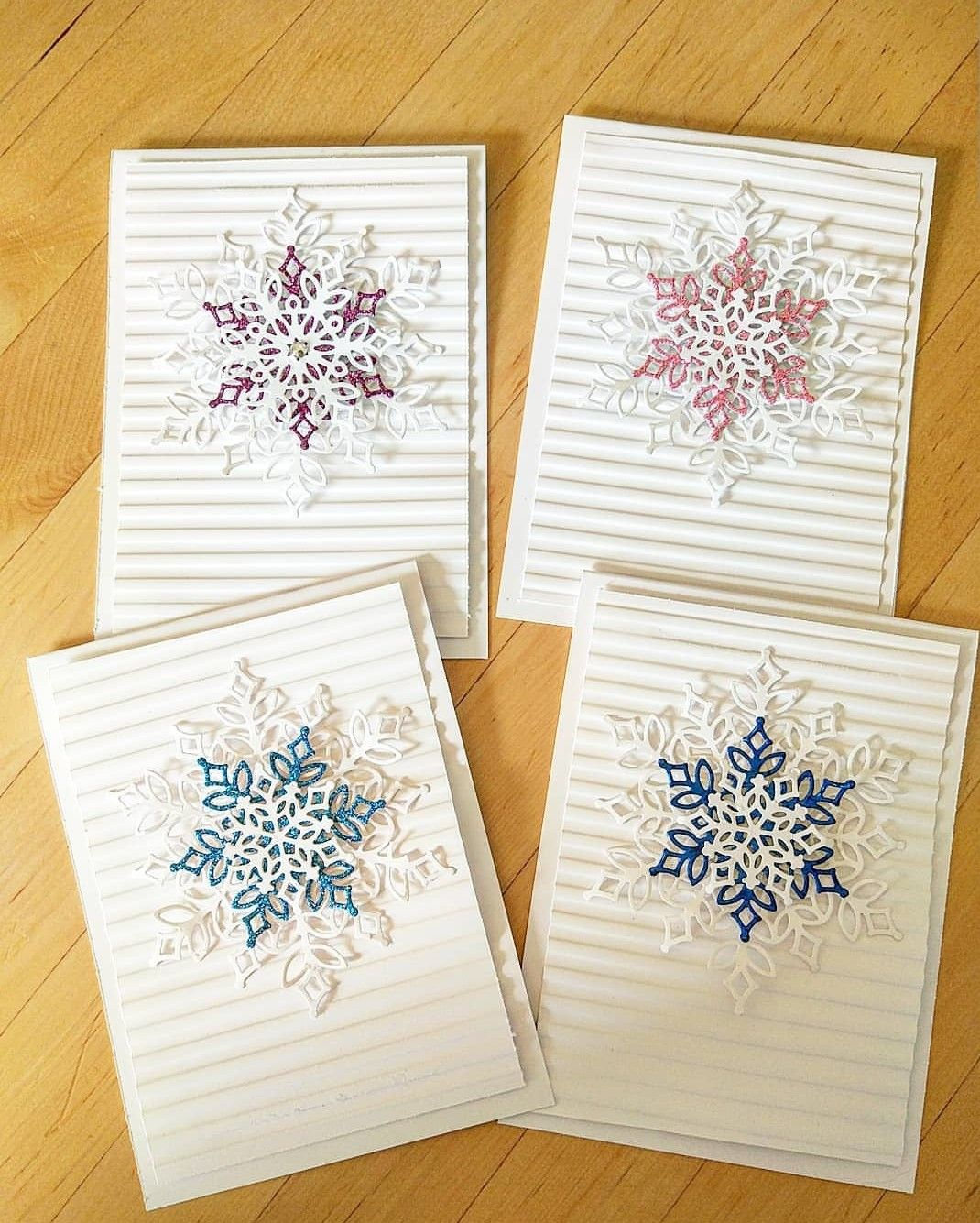 CardsChristmas by Stacey Harms Stamped christmas cards