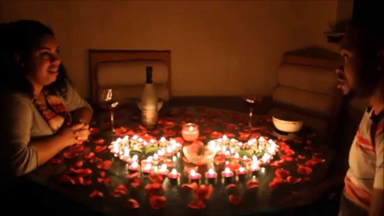 romantic dinner surprise!!! | wow i need a man | pinterest