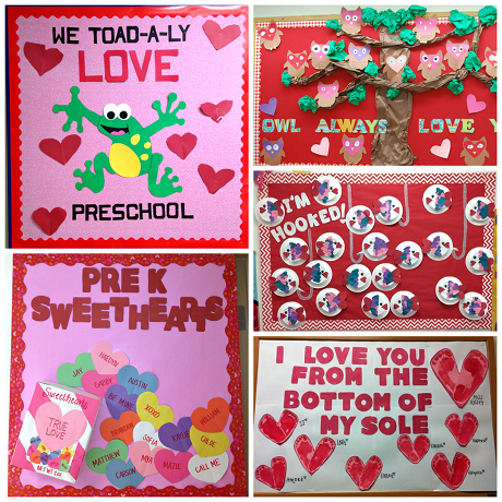 here is a list of valentines day bulletin board ideas for the