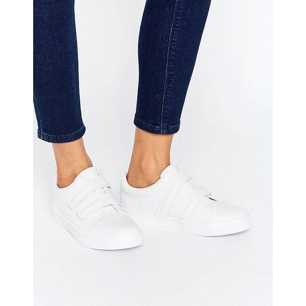 ASOS DARKO Velcro Sneakers ( 36) ❤ liked on Polyvore featuring shoes 528dae7605