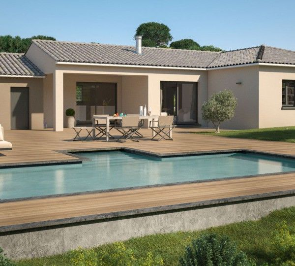 Modèle de maison Laura 110 Design -  Retrouvez tous les types de - modeles de maison a construire