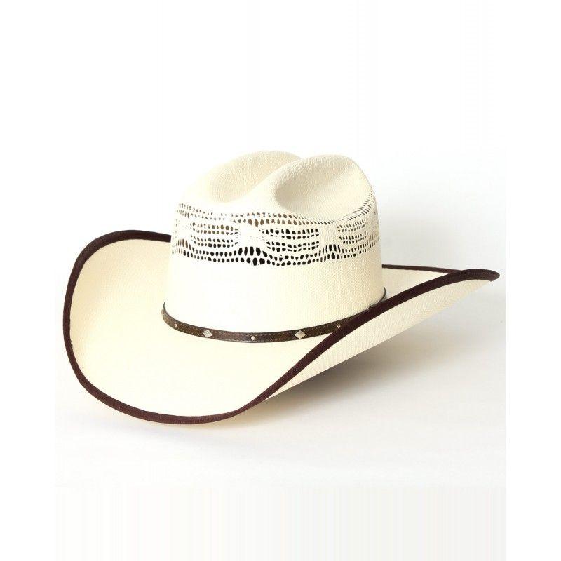 e3c7d08dcac38 Wrangler® Buckhorn B 20X Bangora Straw Hat