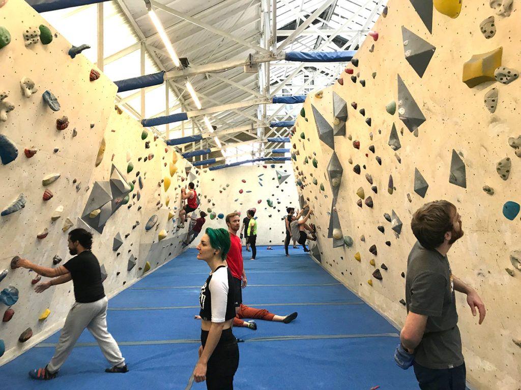 Arch climbing wall london review rock climbing gym