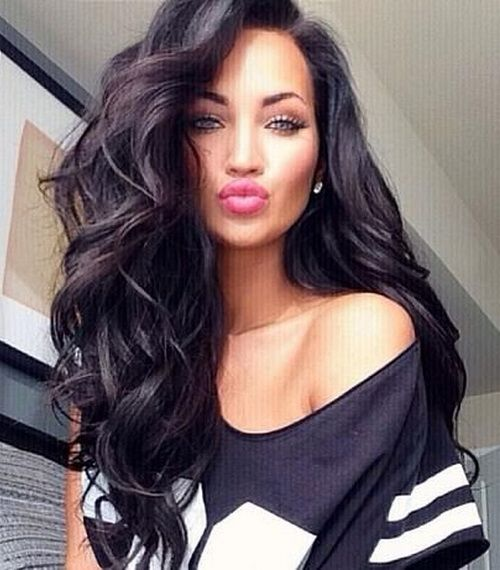 Black Women Hairstyles For Long Thick Hair Women Hairstyle Hair Styles Thick Hair Styles Long Hair Styles
