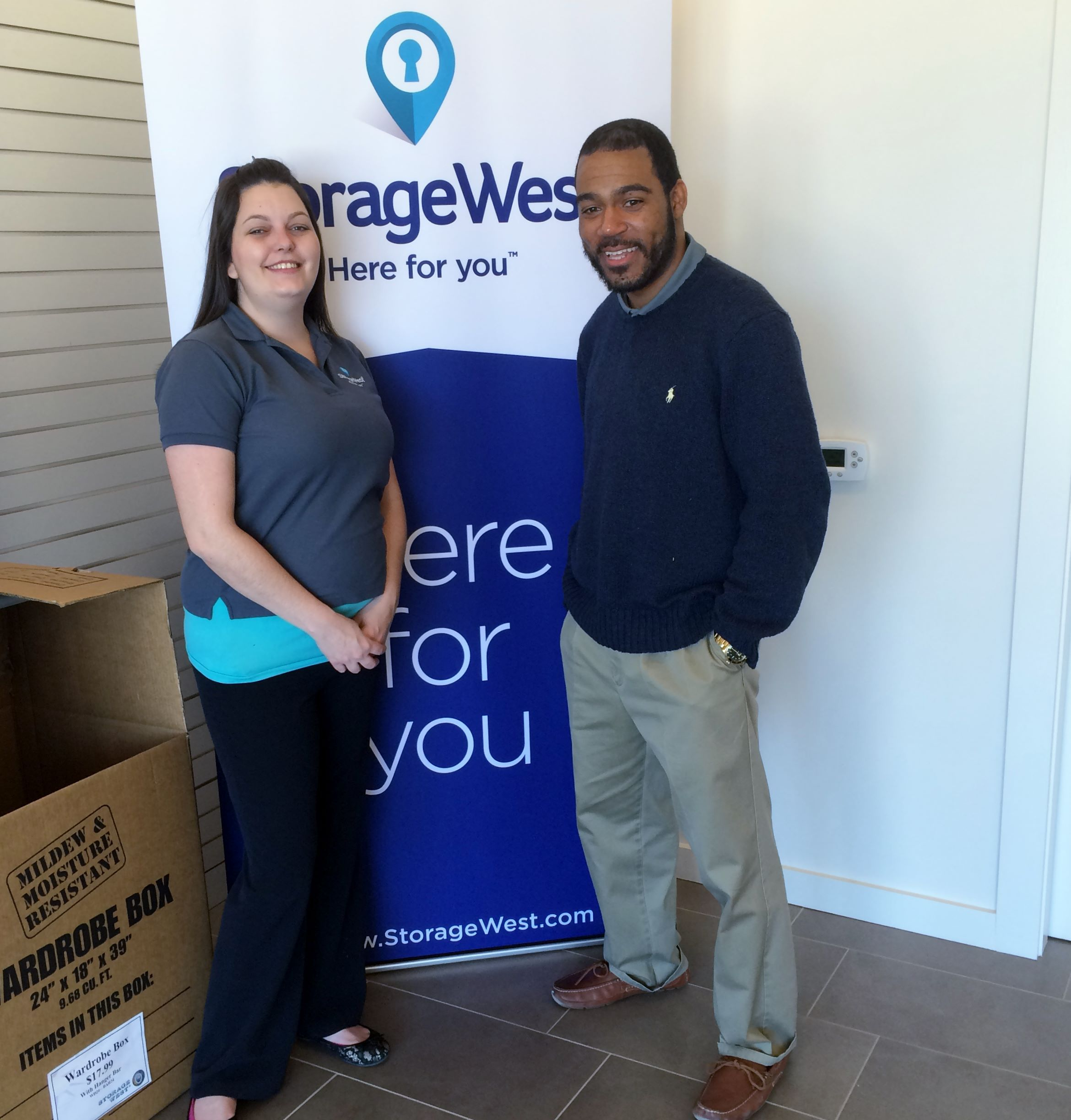 Hereu0027s Autumn Visiting AJ At Storage West The Heights All The Way