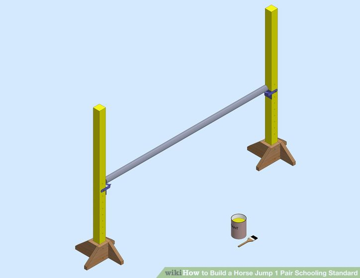 Image titled Build a Horse Jump 1 Pair Schooling Standard Step 6