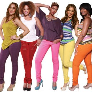 Loving these PZI jeans! Colored denim is my favorite spring trend