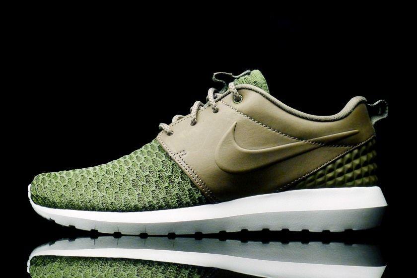 Shelflife Online Store | Buy Nike Roshe One Flyknit Rough Green 746825-300  online