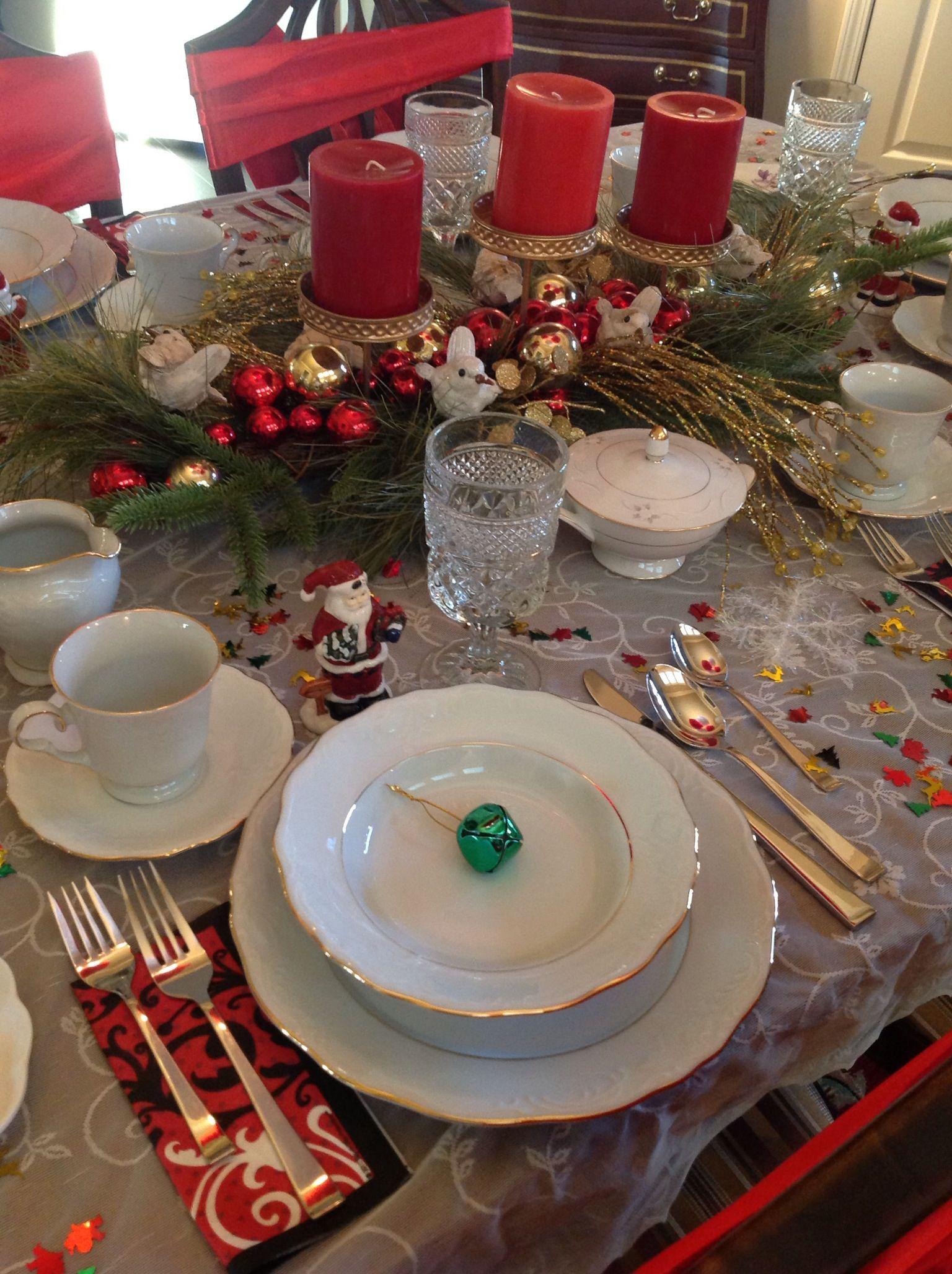 Christmas tea parties