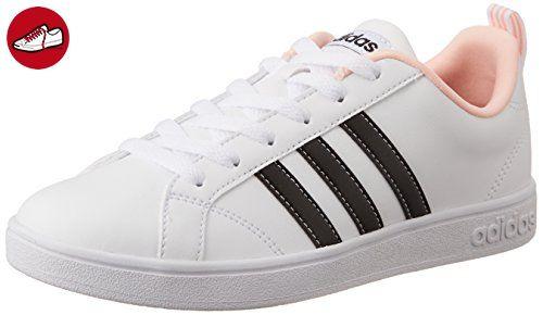 size 40 431bb afe8a Adidas VS ADVANTAGE W Damen Sportschuhe, Weiß – (Ftwblanegbascorneb)
