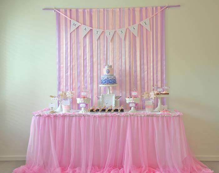 Princess Birthday Party Planning Ideas Cake Decorations Supplies