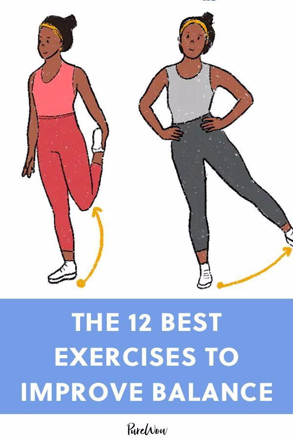 The 12 Best Exercises to Improve Balance (and Prevent Injuries) #purewow #health #fitness #wellness