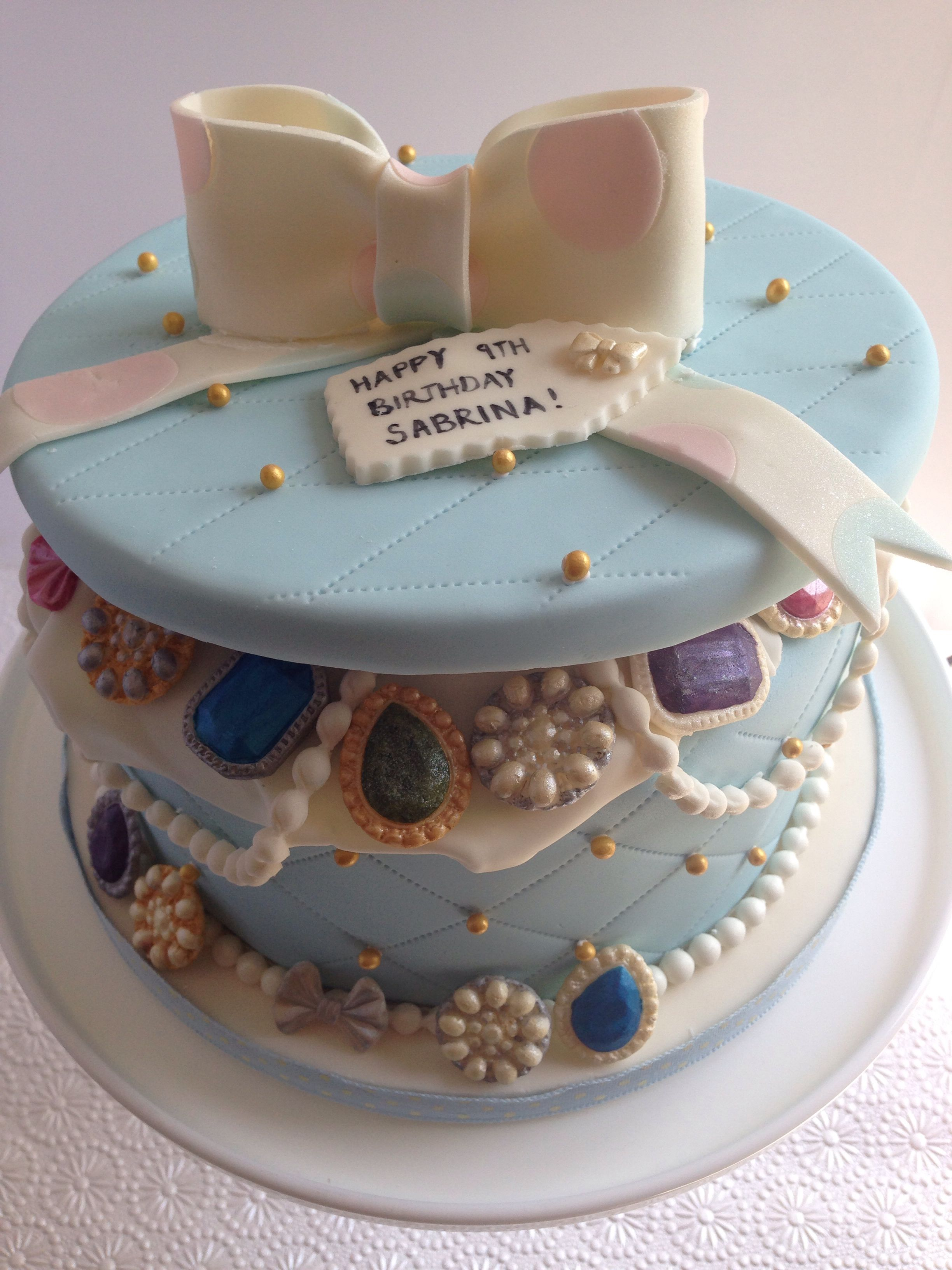 Jewellery cake www.facebook/bmycake
