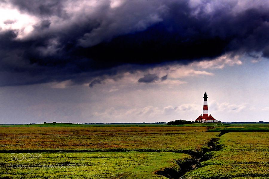 Lighthouse - Pinned by Mak Khalaf Spaziergang zum Westerhever Leuchtturm Travel BeachJuniLeuchtturmLighthouseNordseeküsteSt.Peter Ordingcloudsweather by mainz