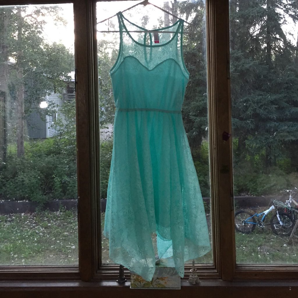 Teal lace dress products