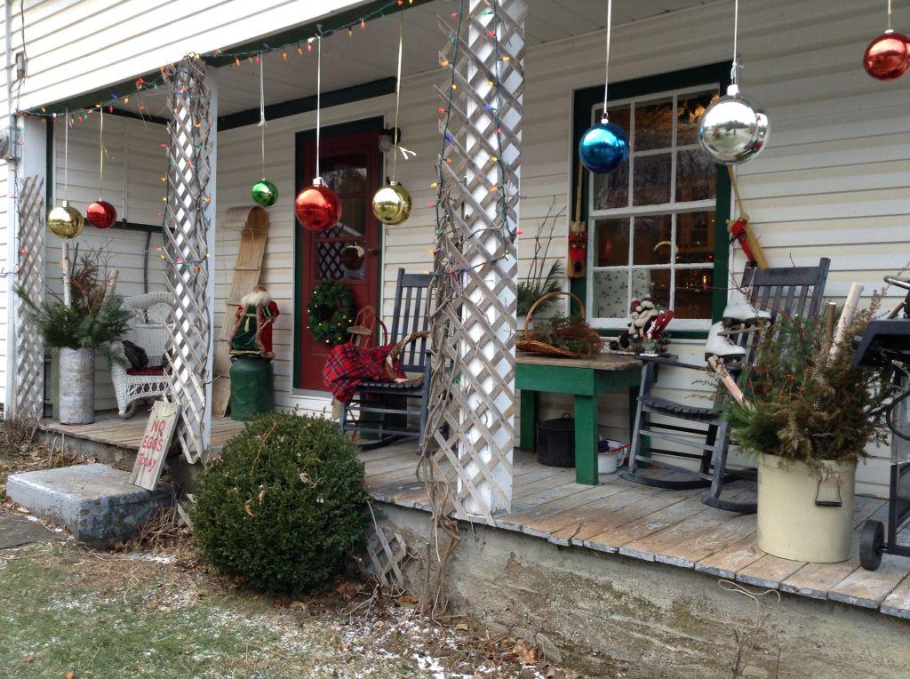 My Front Porch Irish Hills Farm Christmas Decorations
