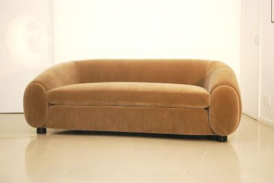 Classic Design Sofa Inspired By Jean Royere Polar Bear Chairs