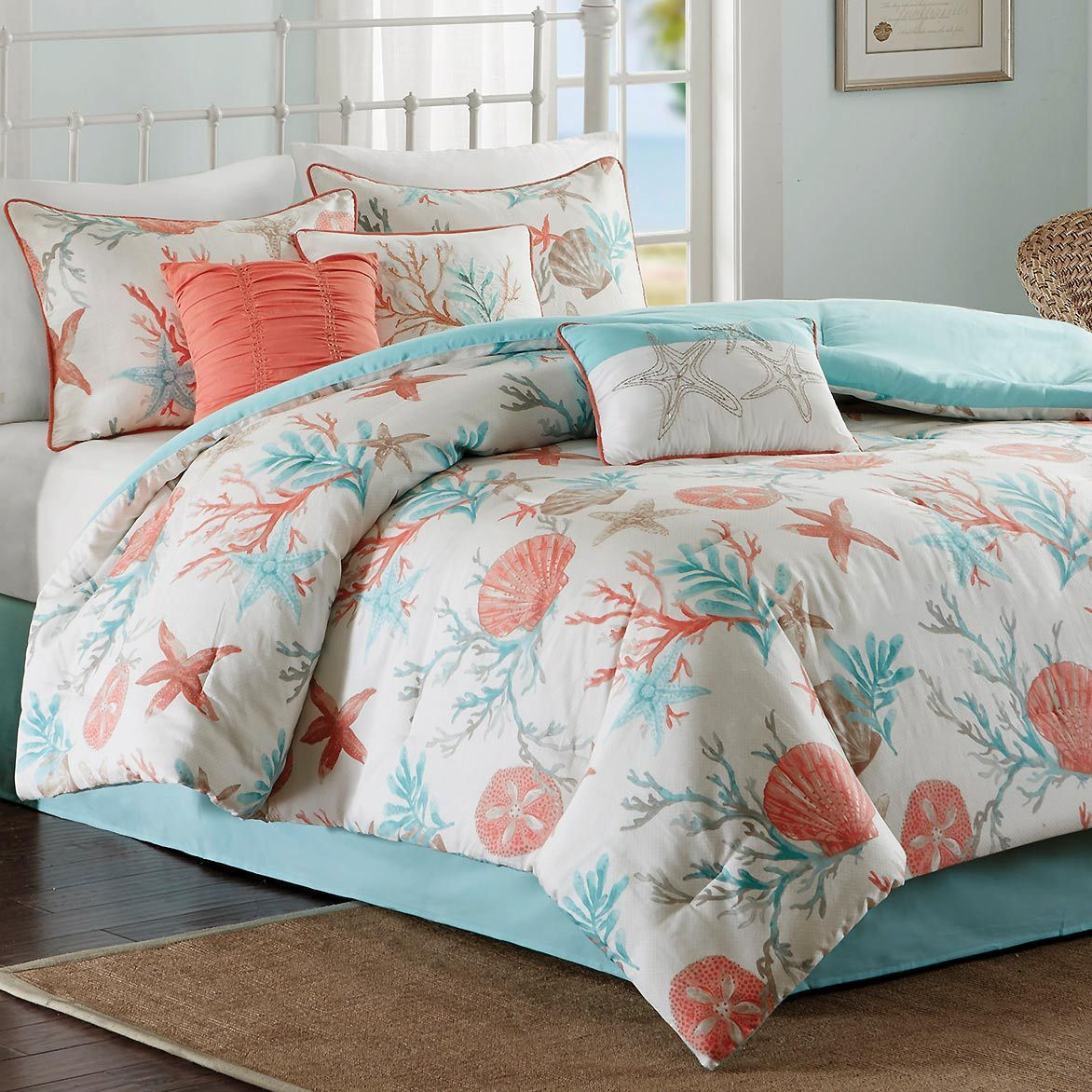 Beachy bedroom! (With images) Beach bedding sets