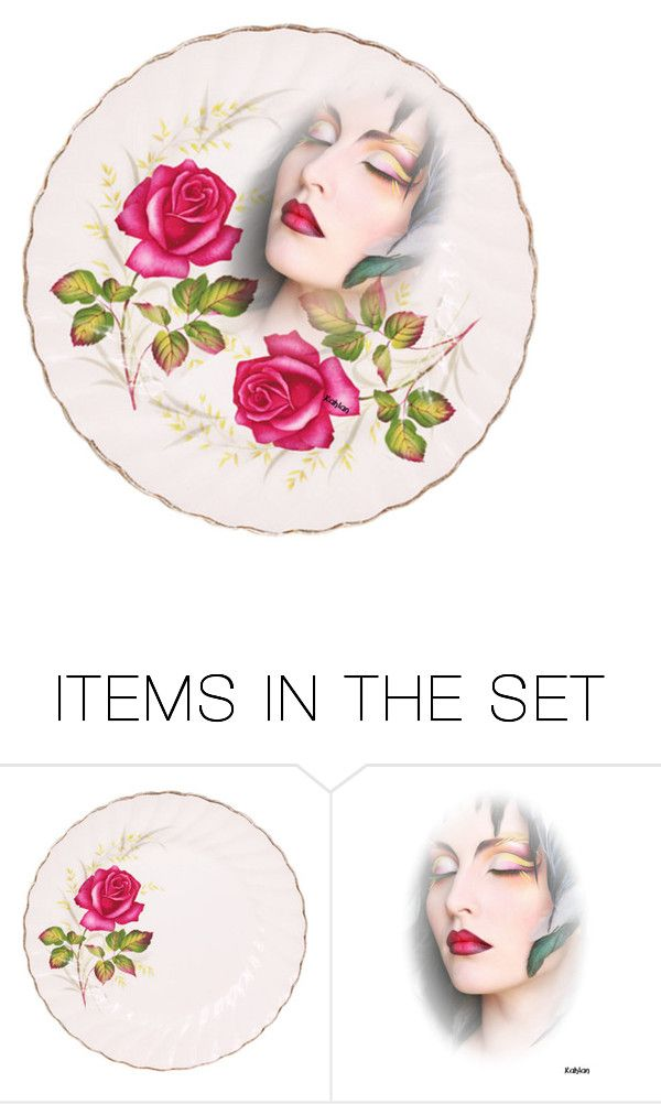 """Three Roses"" by m-kints ❤ liked on Polyvore featuring art and decorate"