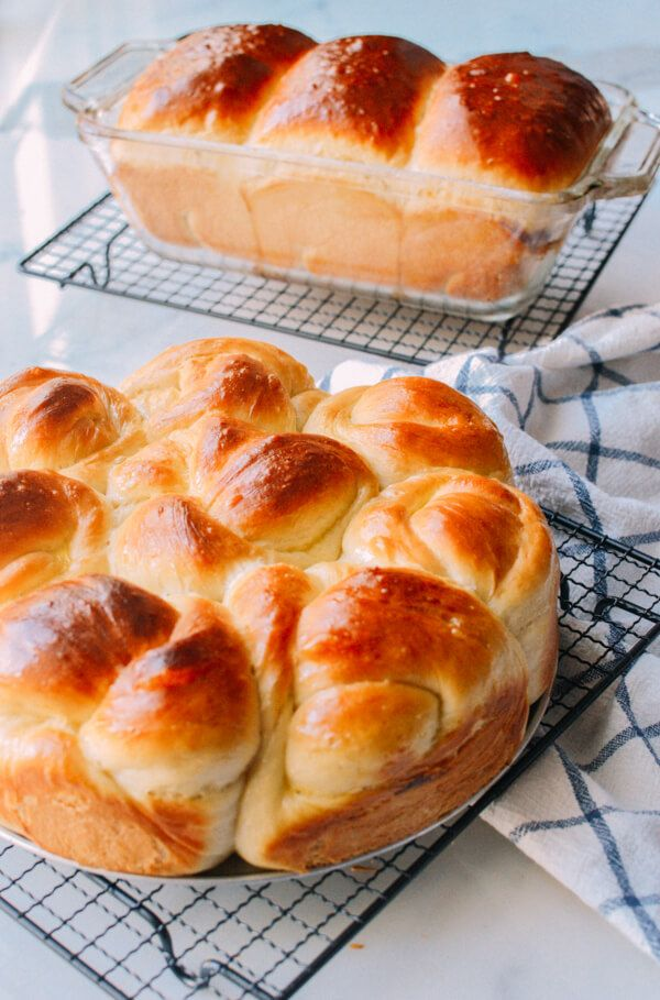 Milk Bread An Easy Chinese Bakery Classic Recipe Food Bread