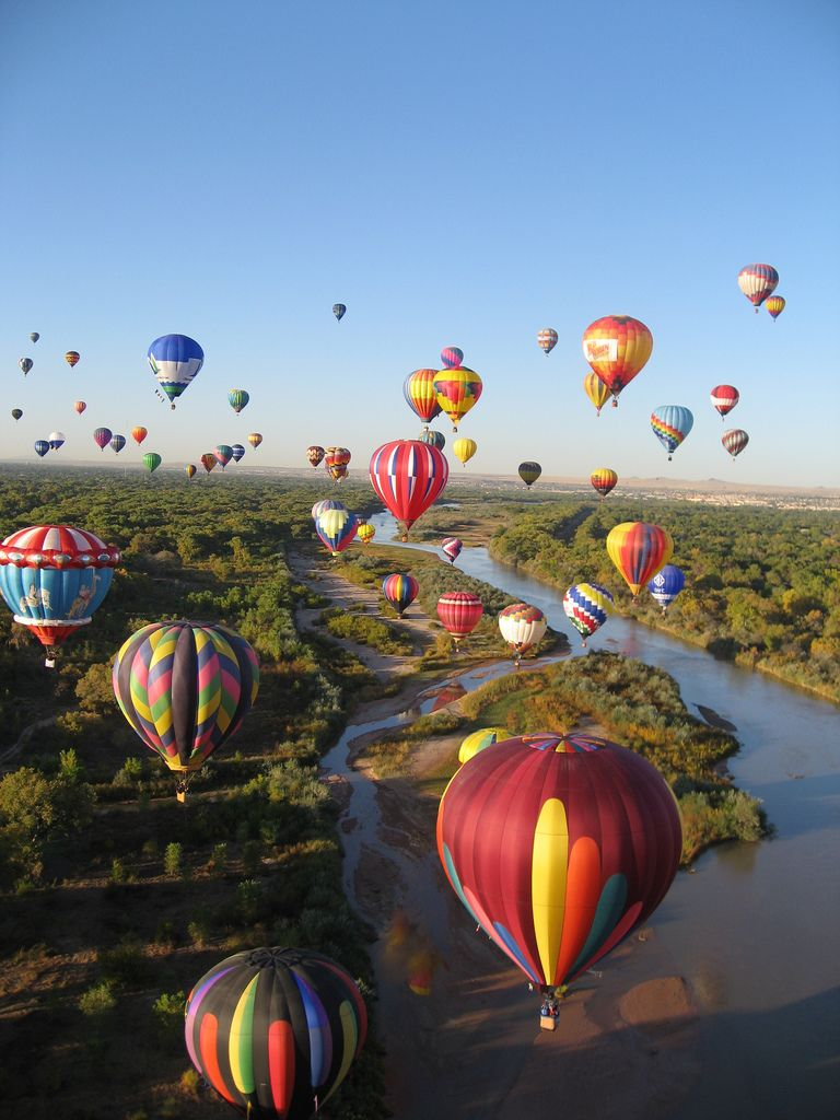 How to See the Albuquerque International Balloon Fiesta