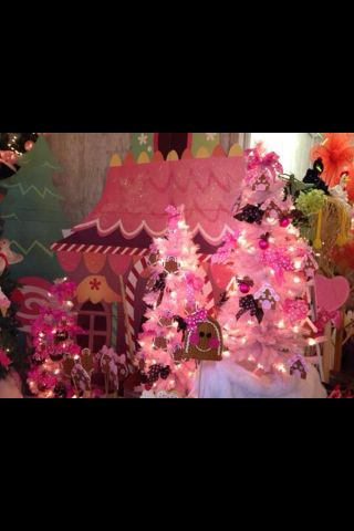 Gingerbread candyland Christmas at Miss Doolittle's!
