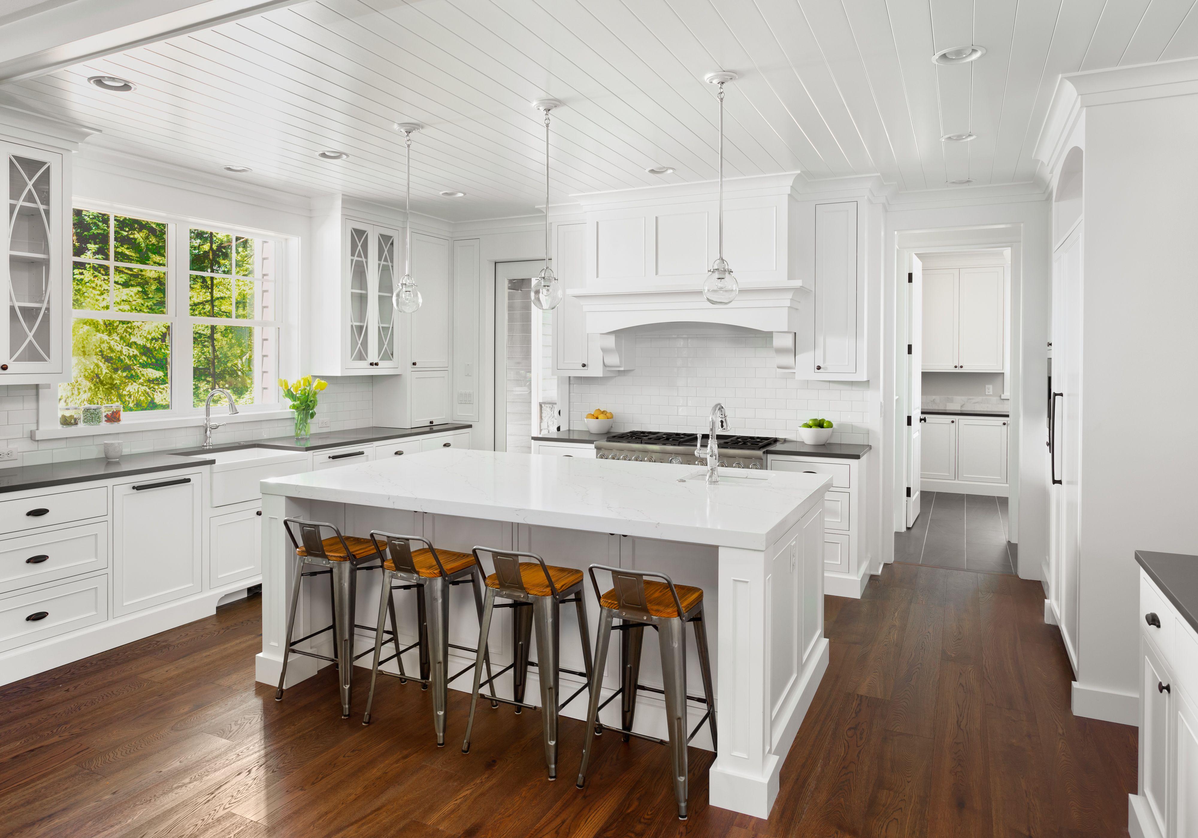 Monochromatic contemporary kitchen remodel ea kitchen design