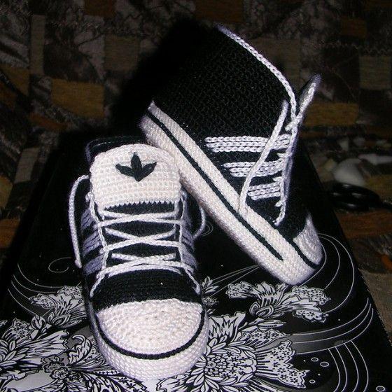 Adidas schoentjes haken