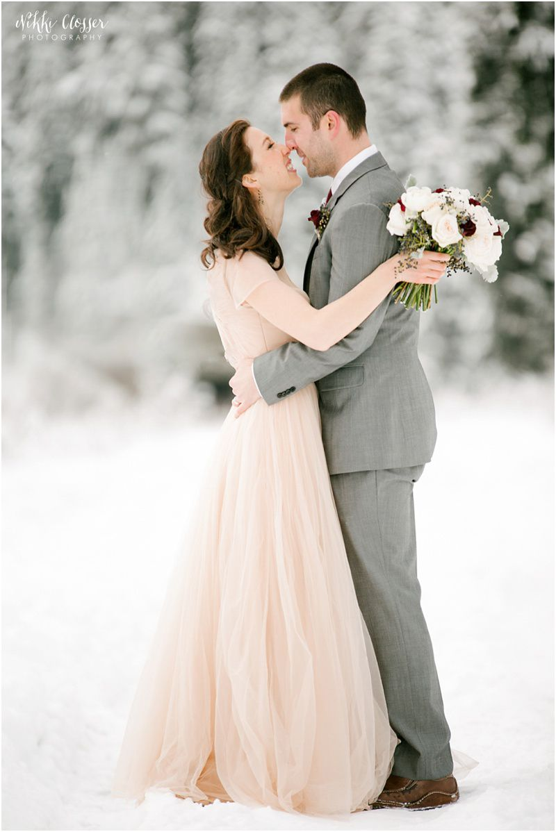 Gold Winter Wedding Dresses