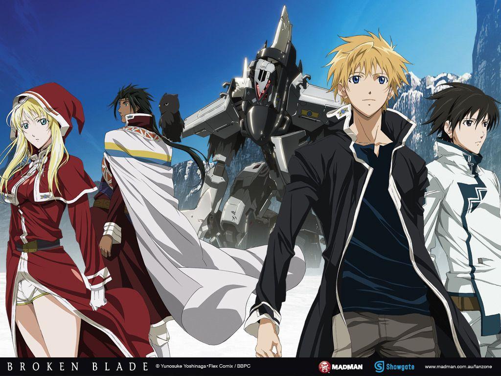 Break blade anime broken blade anime 2014 anime