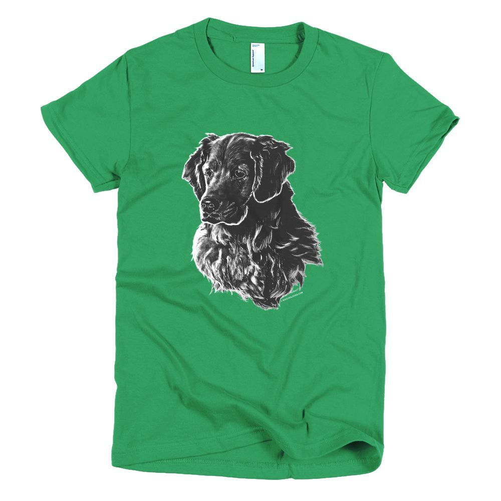 Golden Retriever - women's t-shirt
