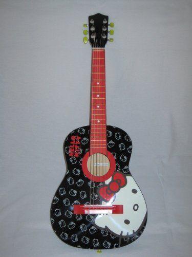 Hello Kitty 30 34 Acoustic Guitar Http Www Amazon Com Dp B003cot7u0 Ref Cm Sw R Pi Awdl Ttkxsb0ssz4k6 Hello Kitty Kitty Guitar
